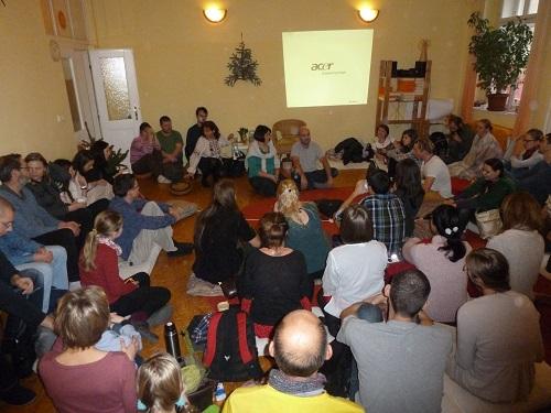 Setkání příznivců knih V. Megreho v Praze 27. května 2017