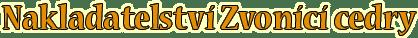 Nakladatelství Zvonící cedry Logo